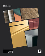 copertina catalogo lago elements