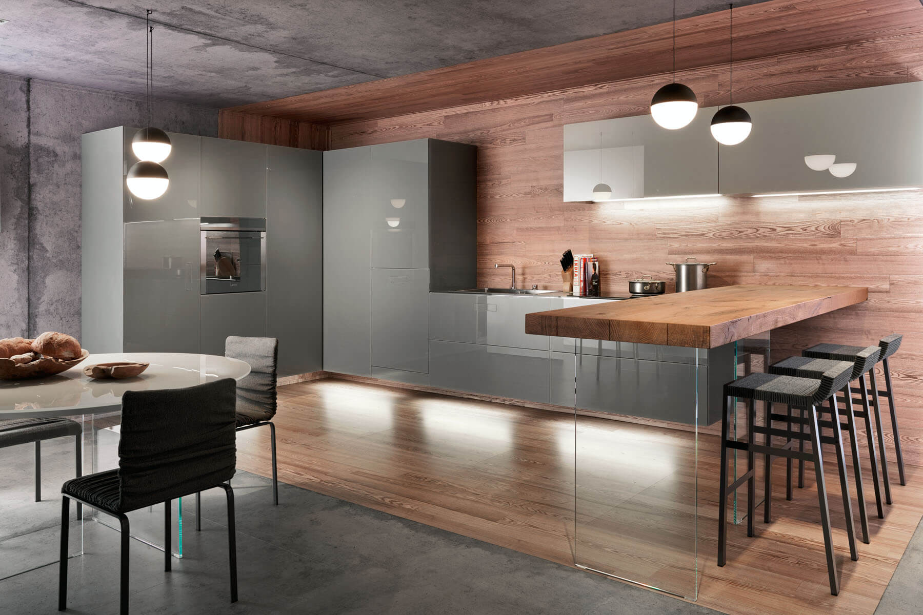 Cucine componibili di design lago design for Arredamento english