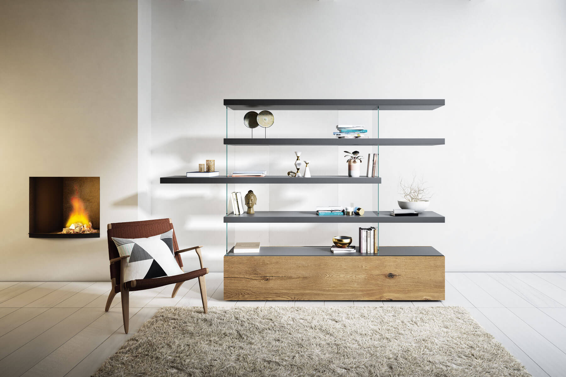 libreria lago design air