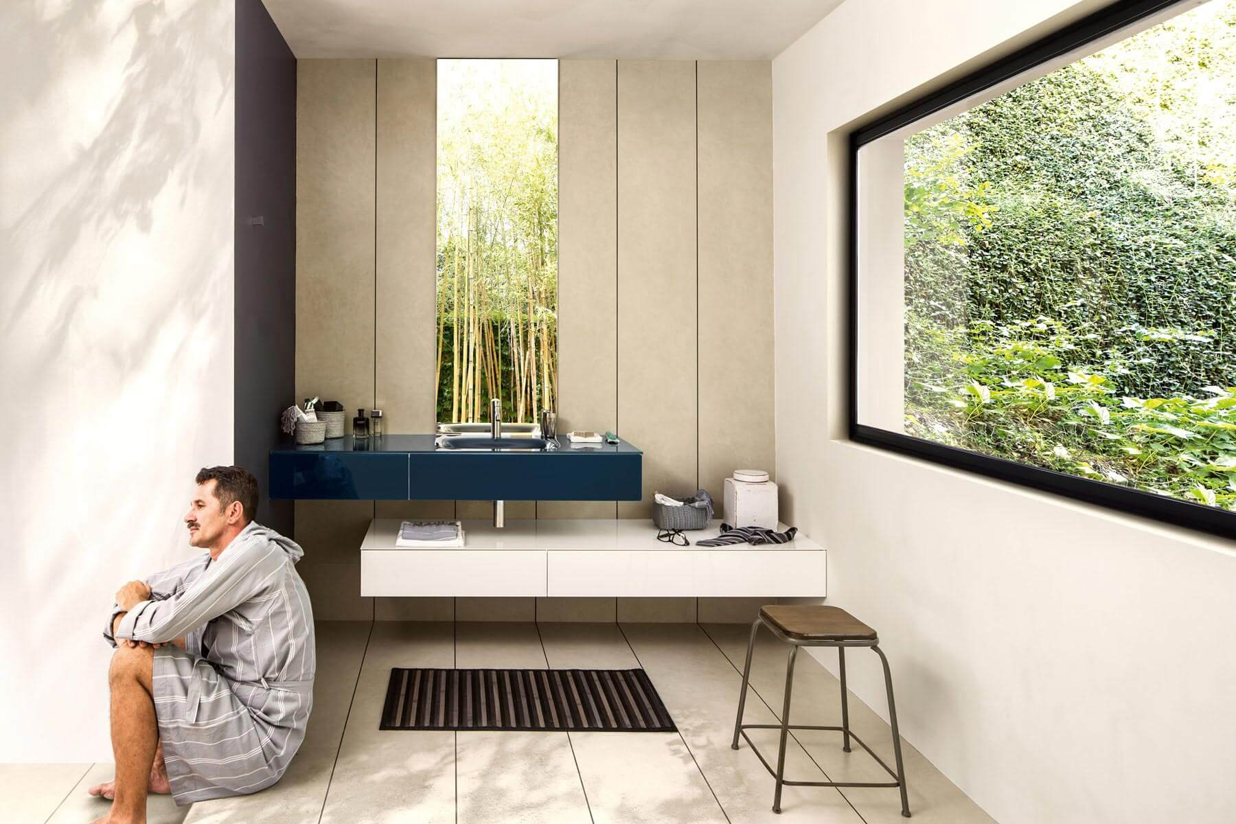 Mobile Bagno New York design-driven furnishings for the bathroom | lago design