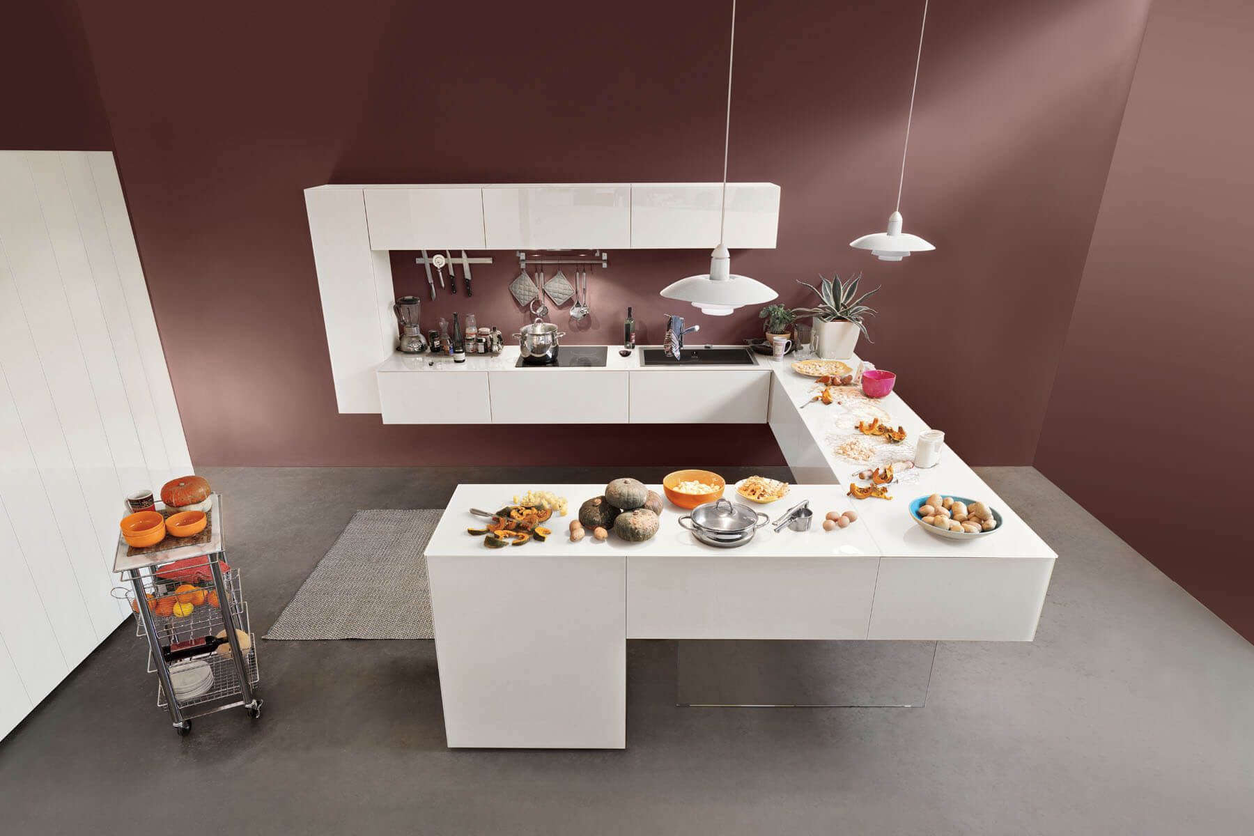 Come Progettare Una Cucina Componibile. Le Colonne Pocket Integrano ...