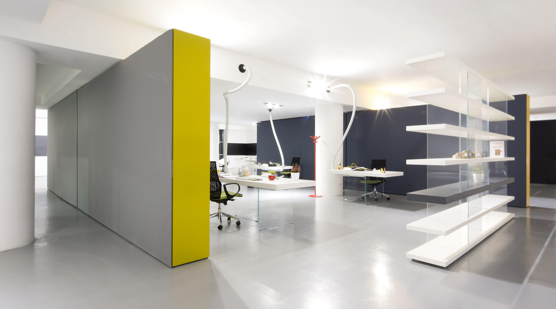 Ufficio Open Space Torino : Design offices and workspaces lago