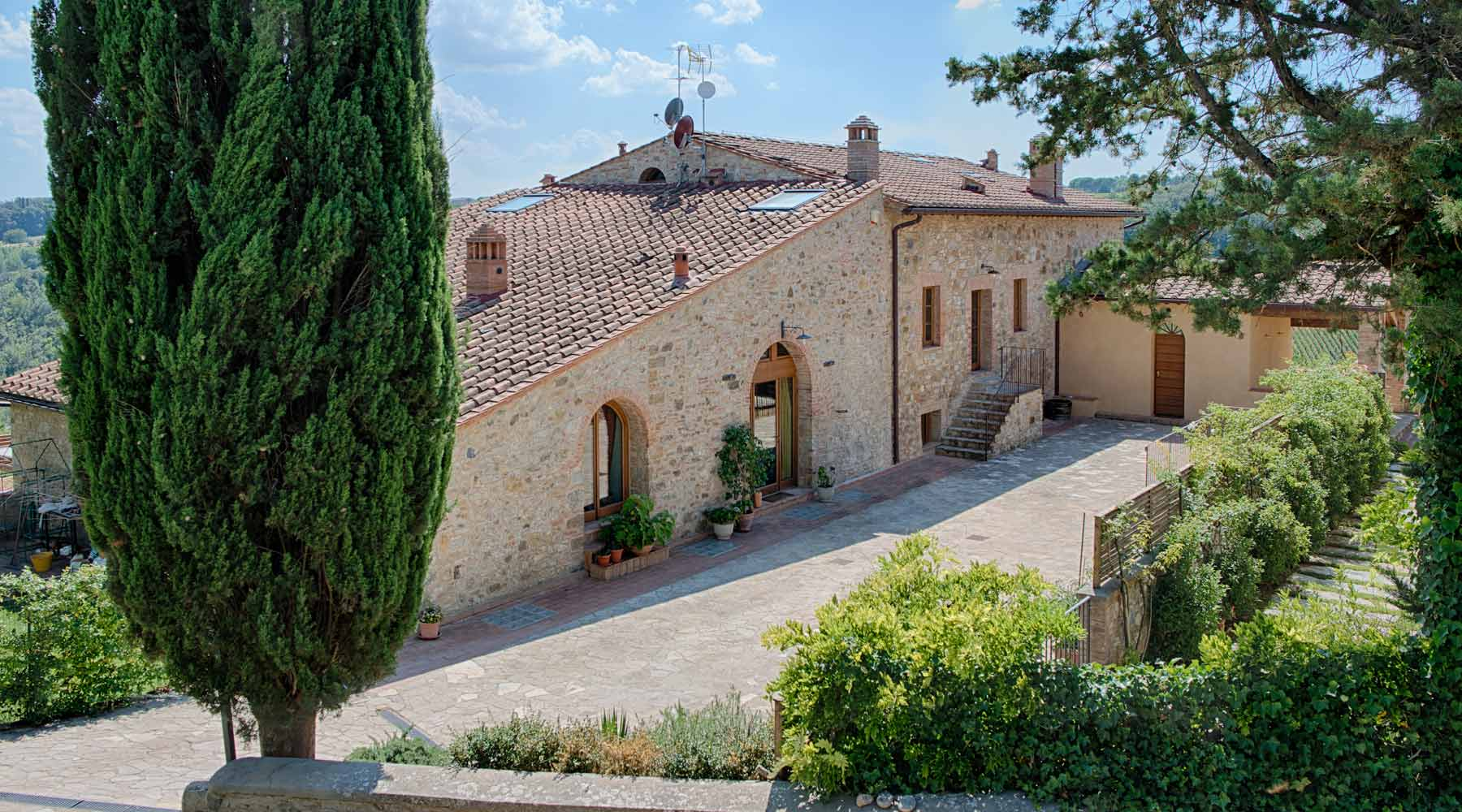 bed and breakfast in podere toscano ristrutturato