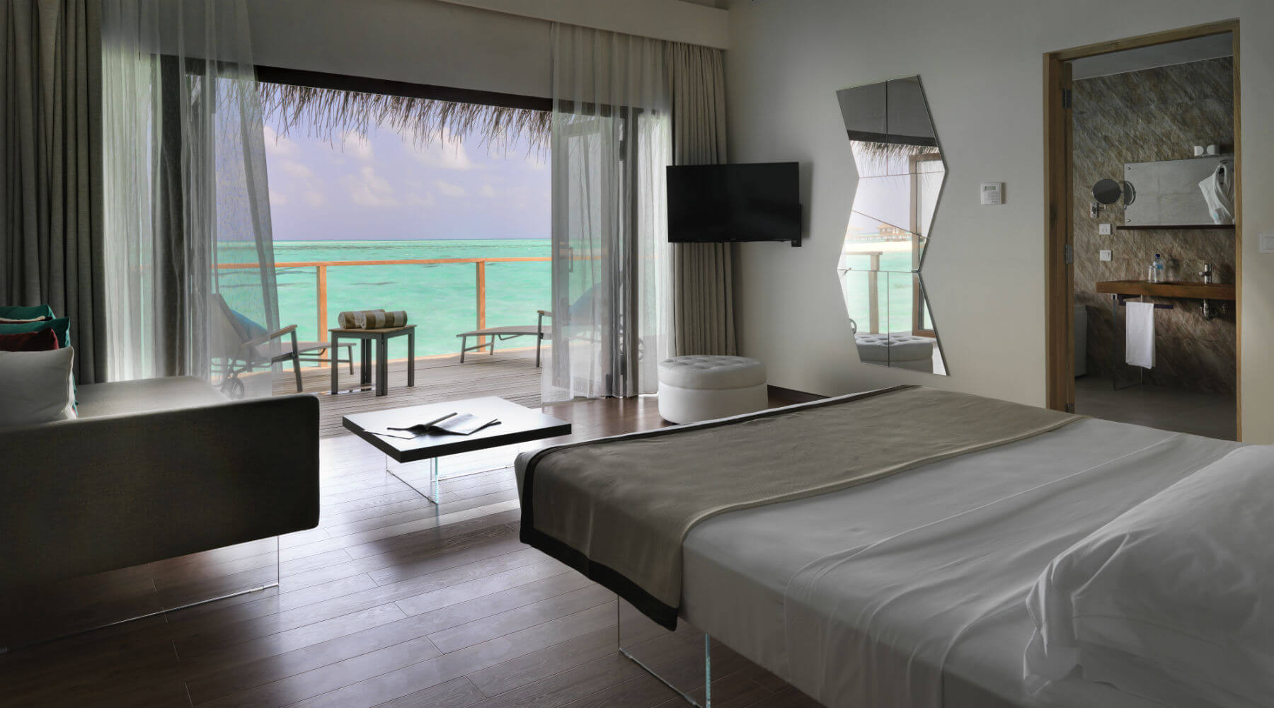 LAGO Cocoon Maldives - Letto Air Wildwood