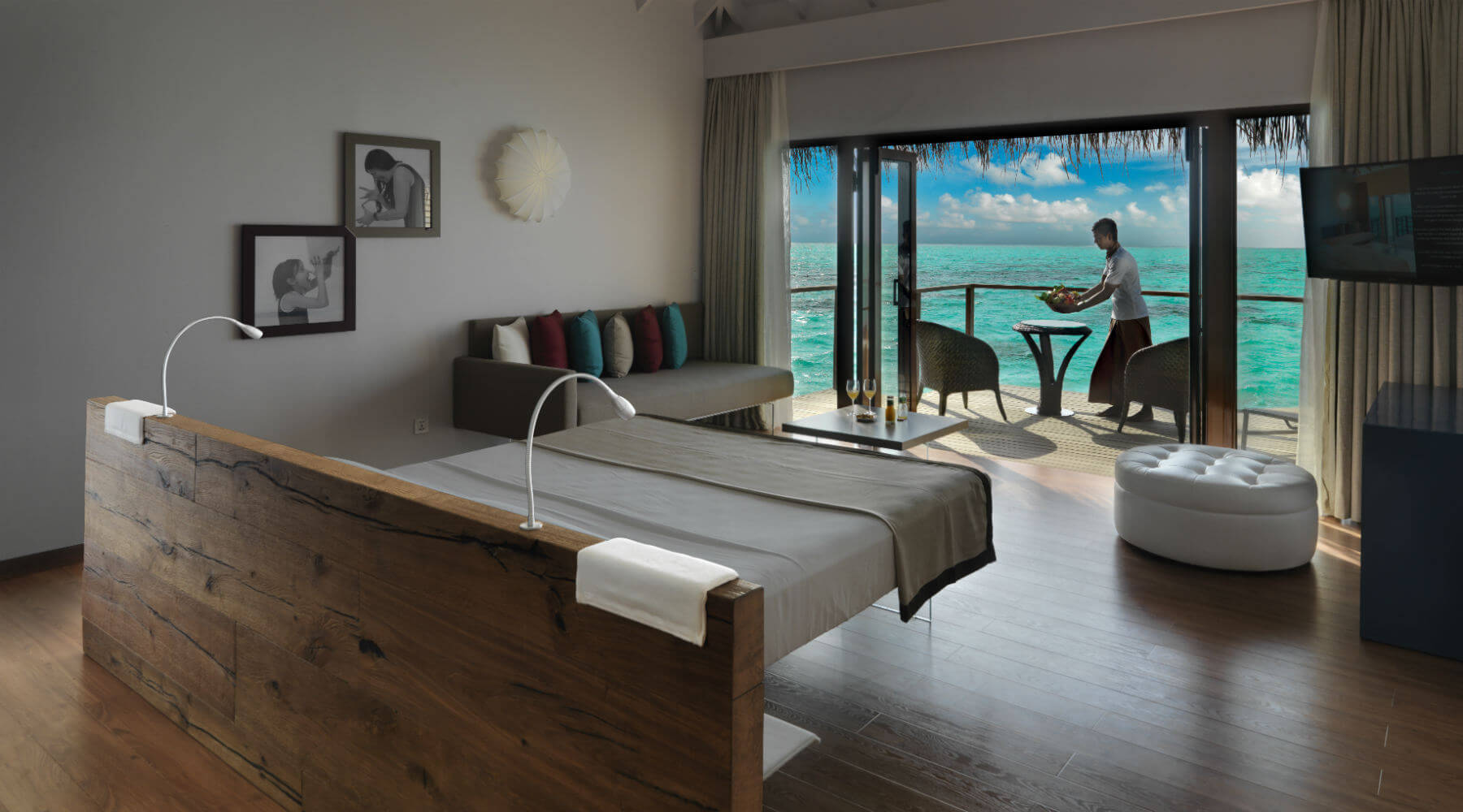 LAGO Cocoon Maldive - Letto Air Wildwood