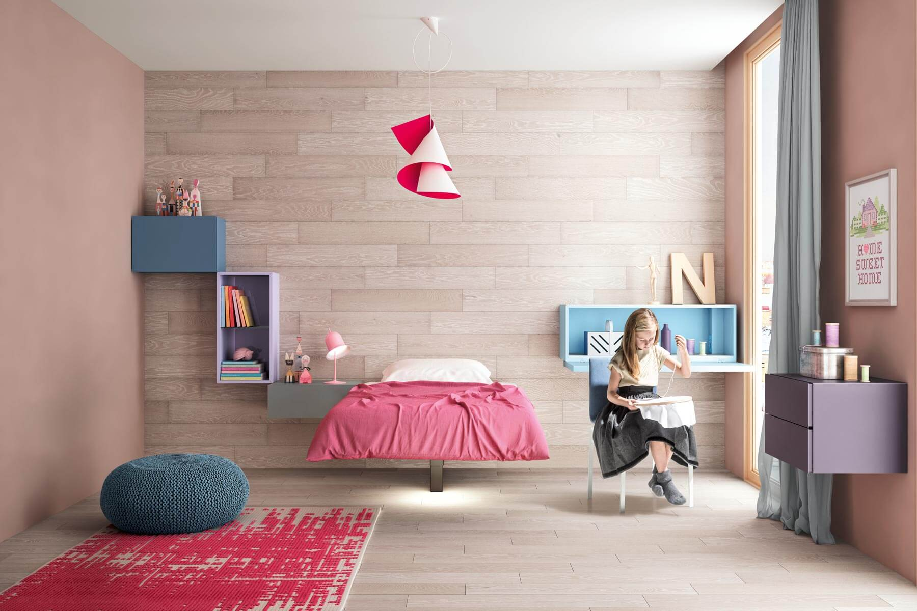 Composition for Kids Bedroom