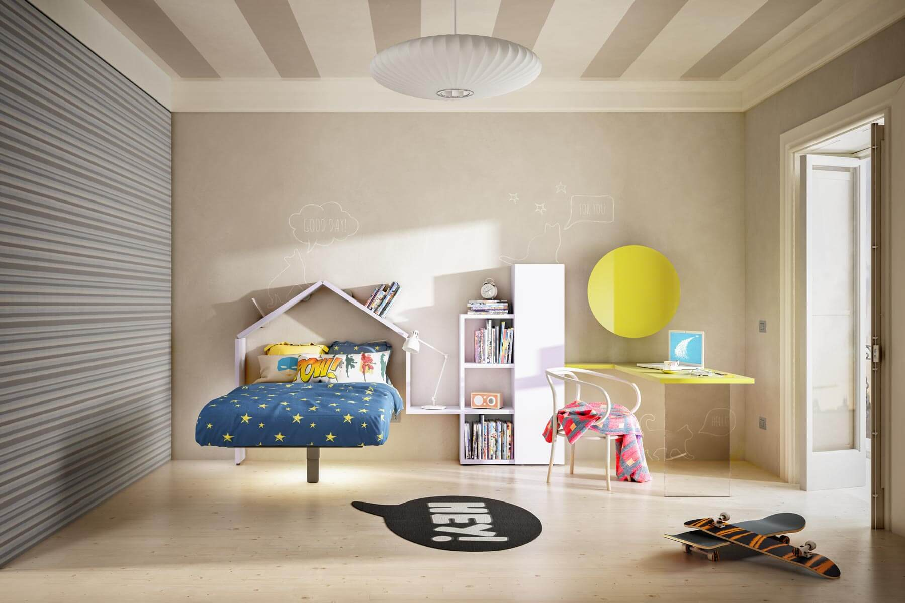 Bed with Storage 36e8 kids