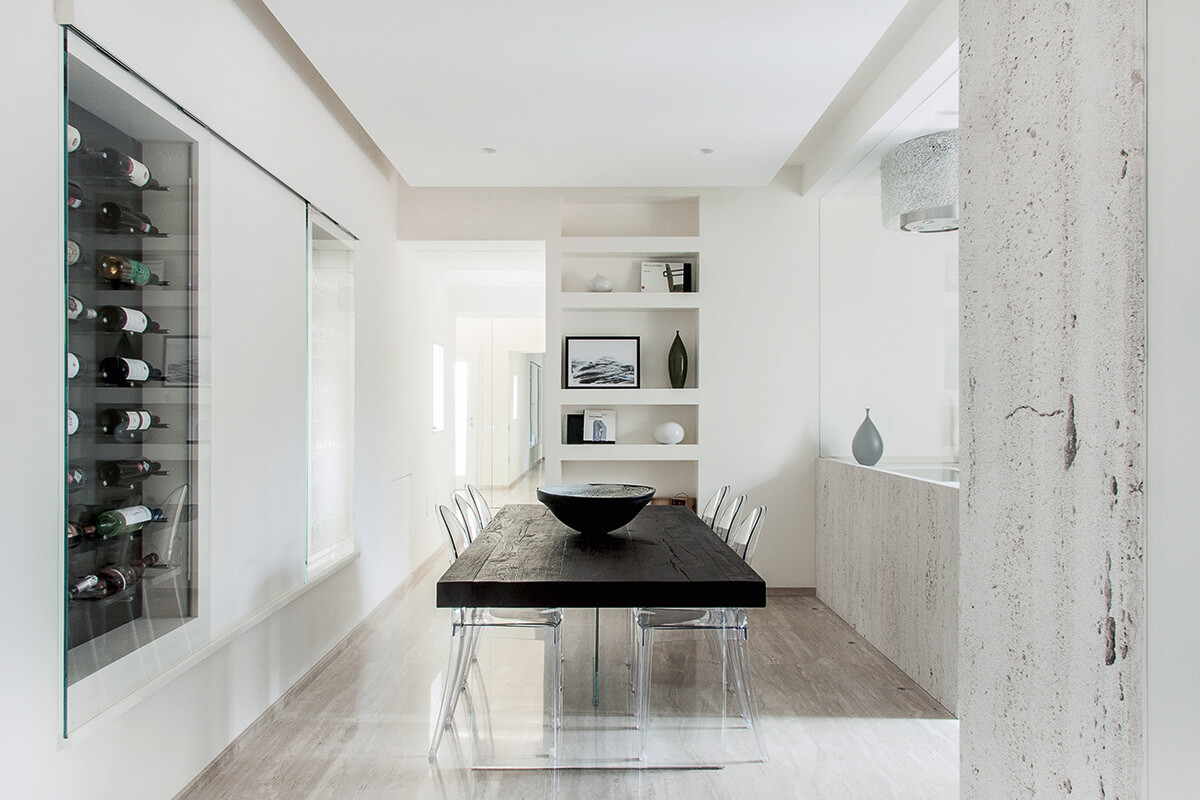 Black Air Table Dining Room