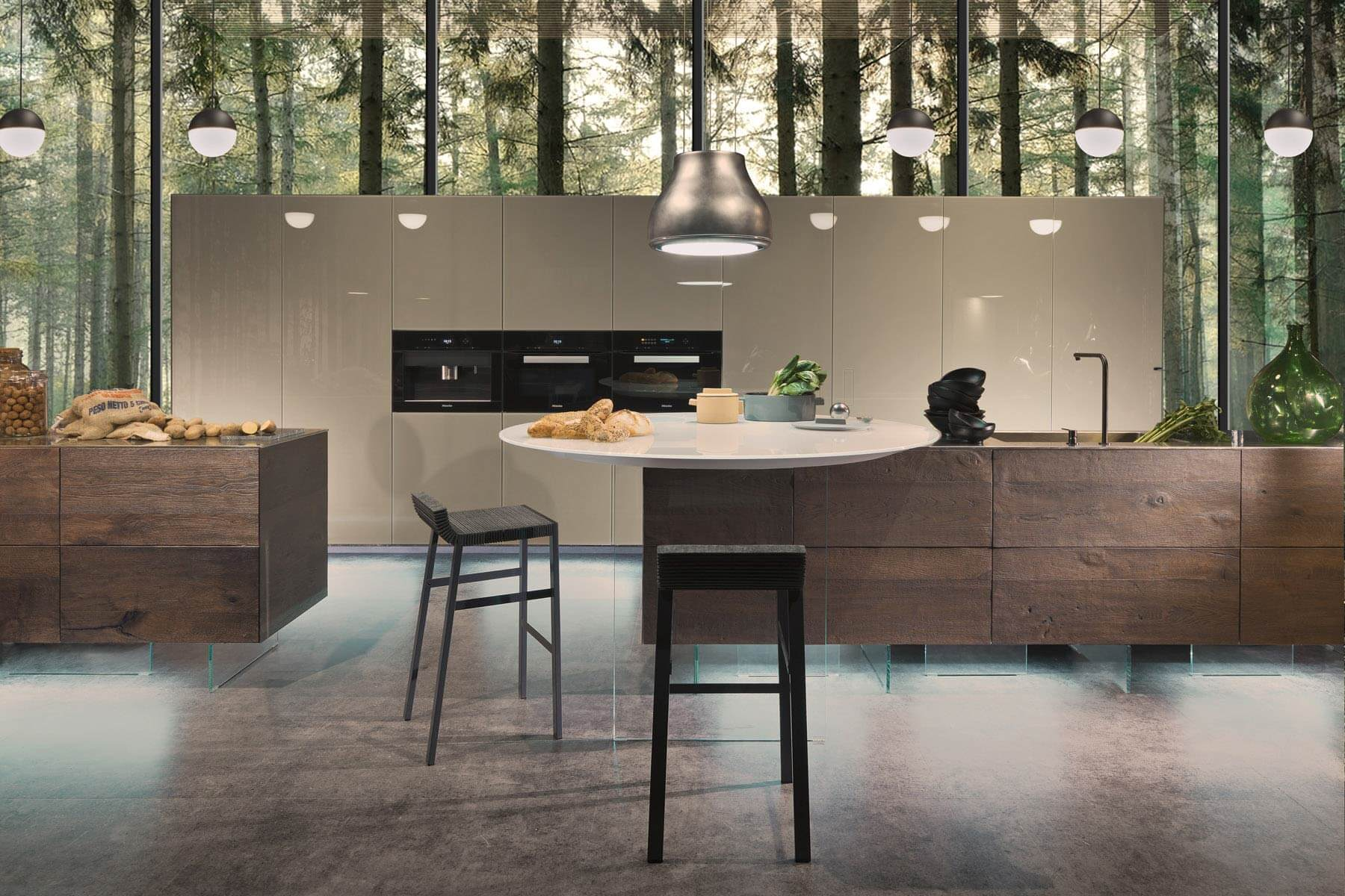 Dispensa 36e8 ergonomia per la tua cucina lago design for Cucine di design in offerta