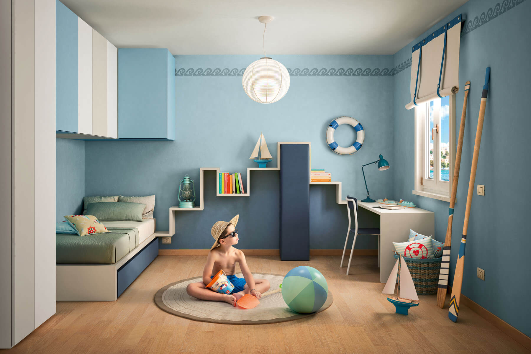 kids lagolinea bookshelf 6