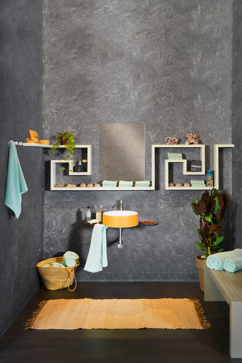 Bathroom Storage with Basin