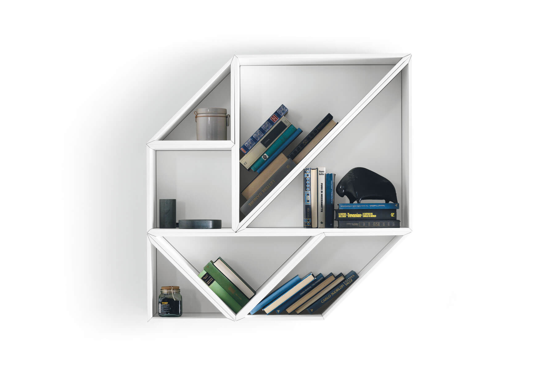 Tangram Shelving Modular Shelving That You Can Configure