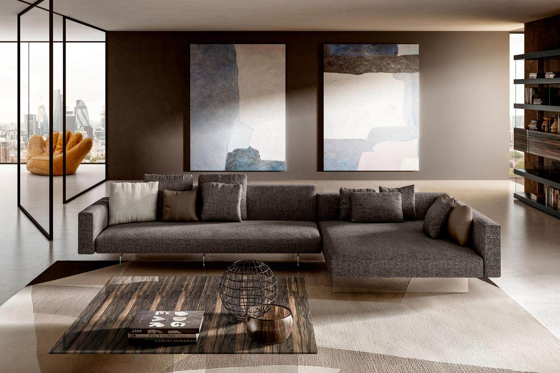 Divani Di Design In Pelle.Air Sofa A Modular Sofa For Your Well Being Lago Design