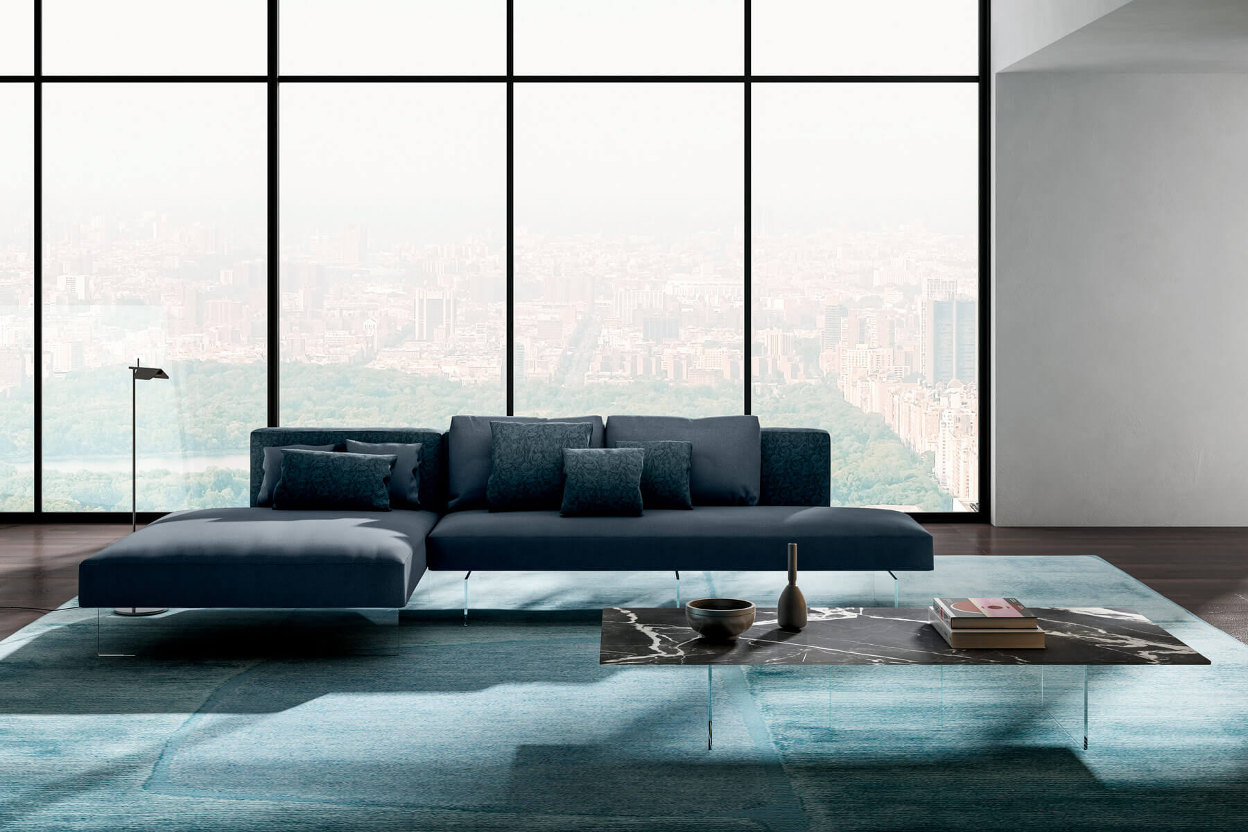 Divano In Pelle A Torino.Air Sofa A Modular Sofa For Your Well Being Lago Design