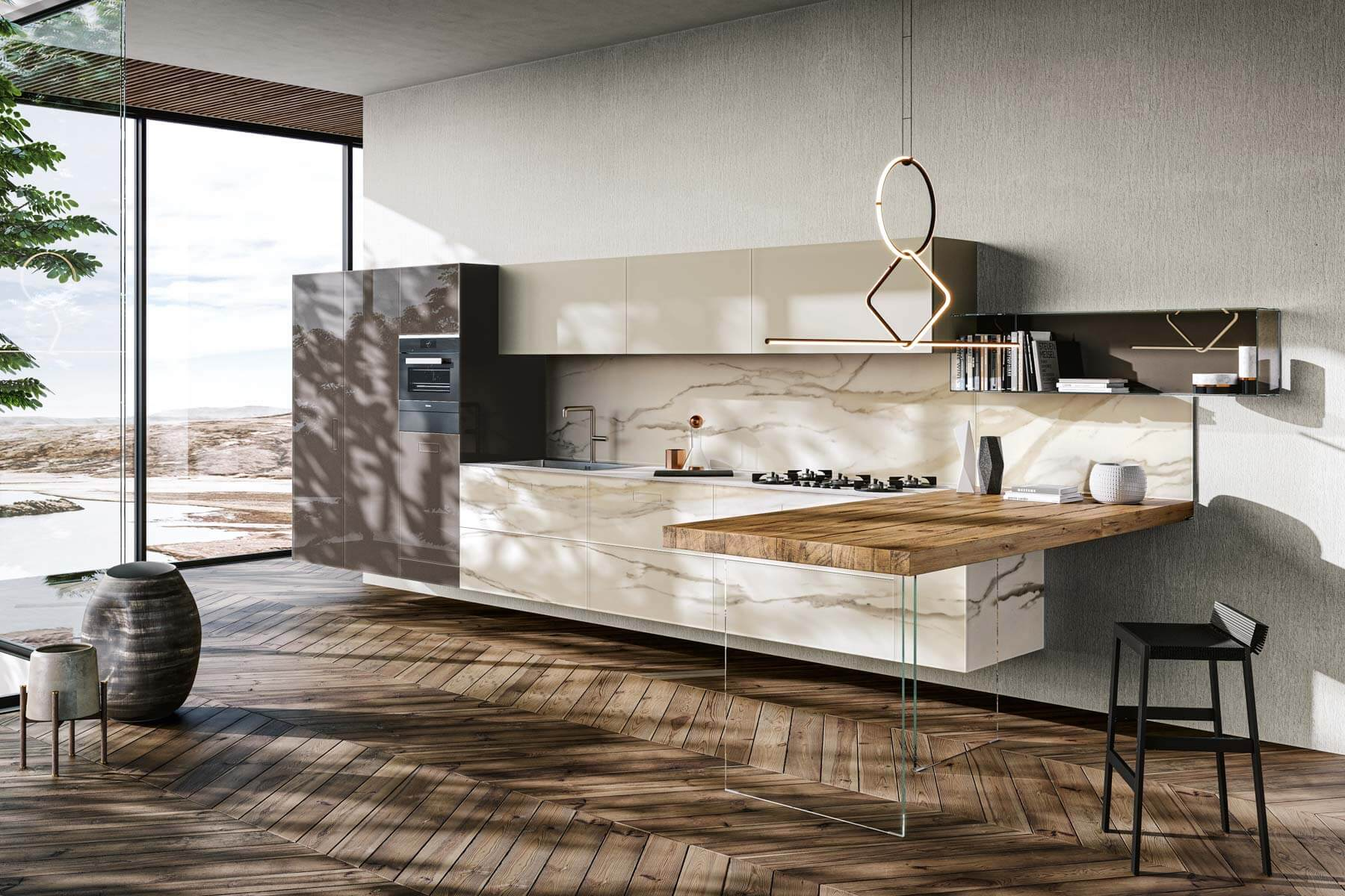 Cucina Marble 7