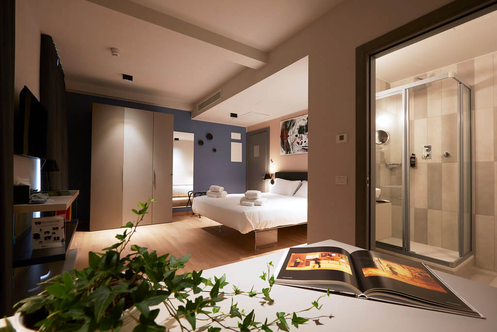 Milano 21WOL   Way of Living - camere d'hotel