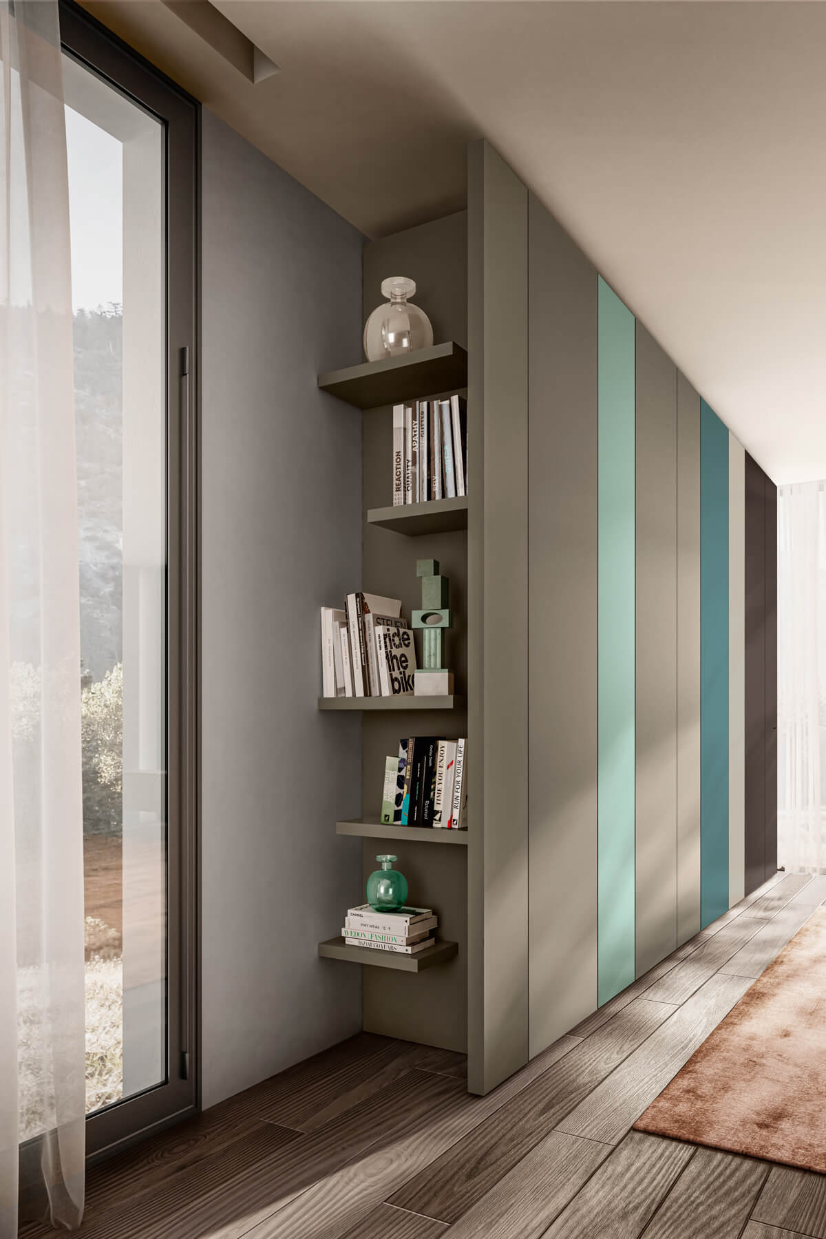 wardrobe-with-bookcase