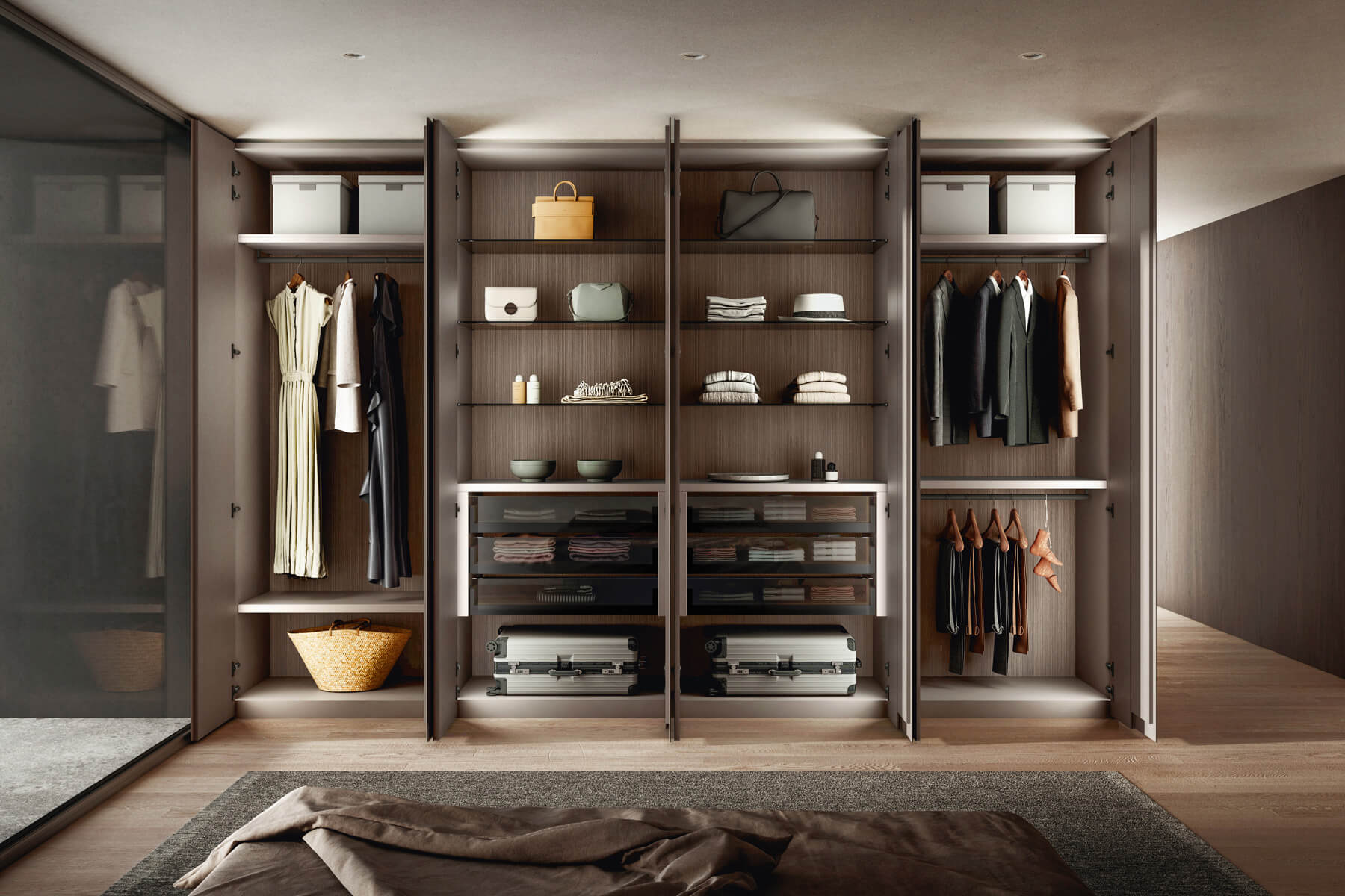 modern-wardrobe-with-drawers-and-compartments