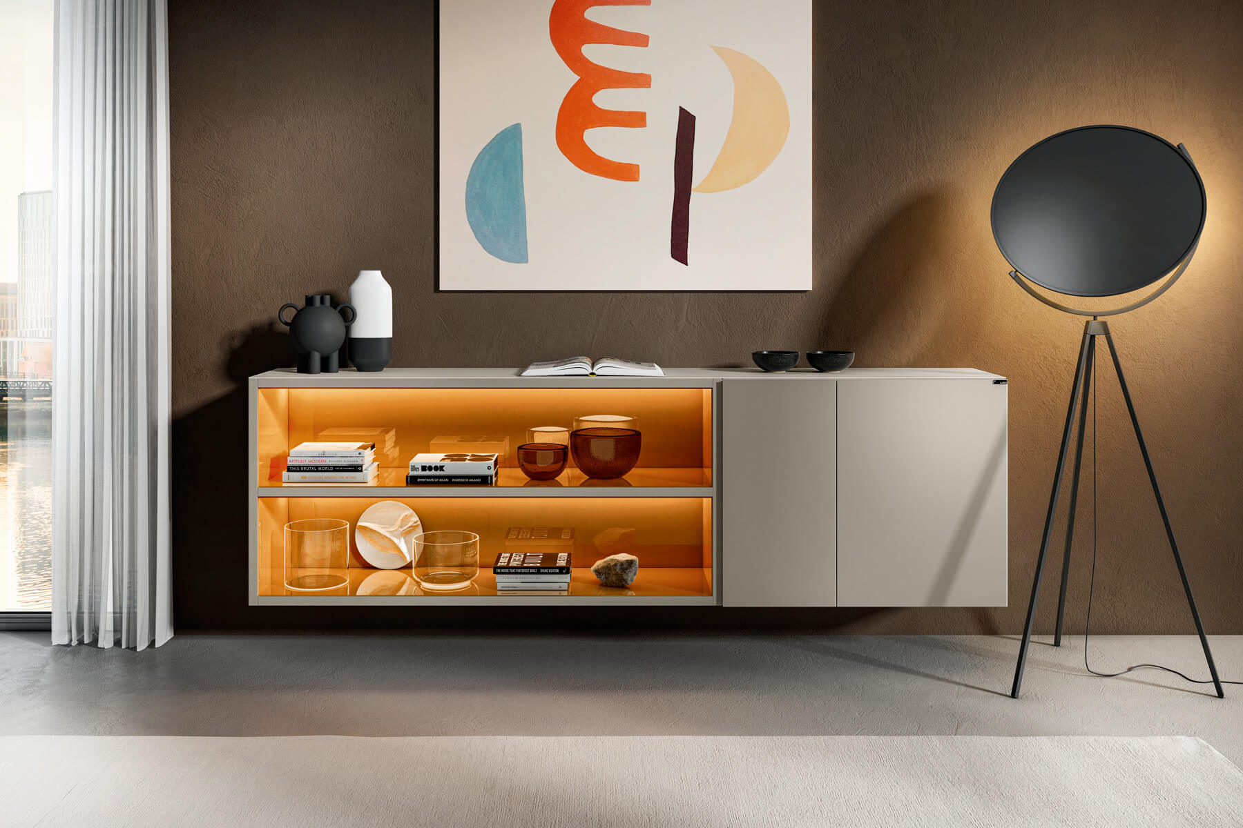 bookcase-sideboard-with-lights