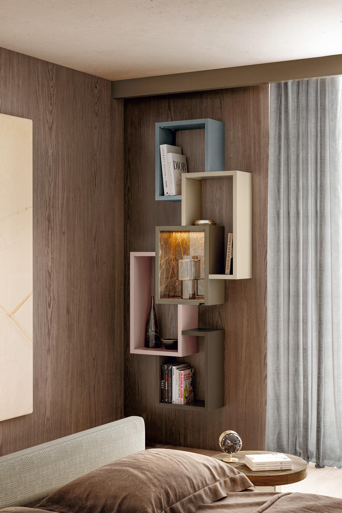 modular-colored-bookcase