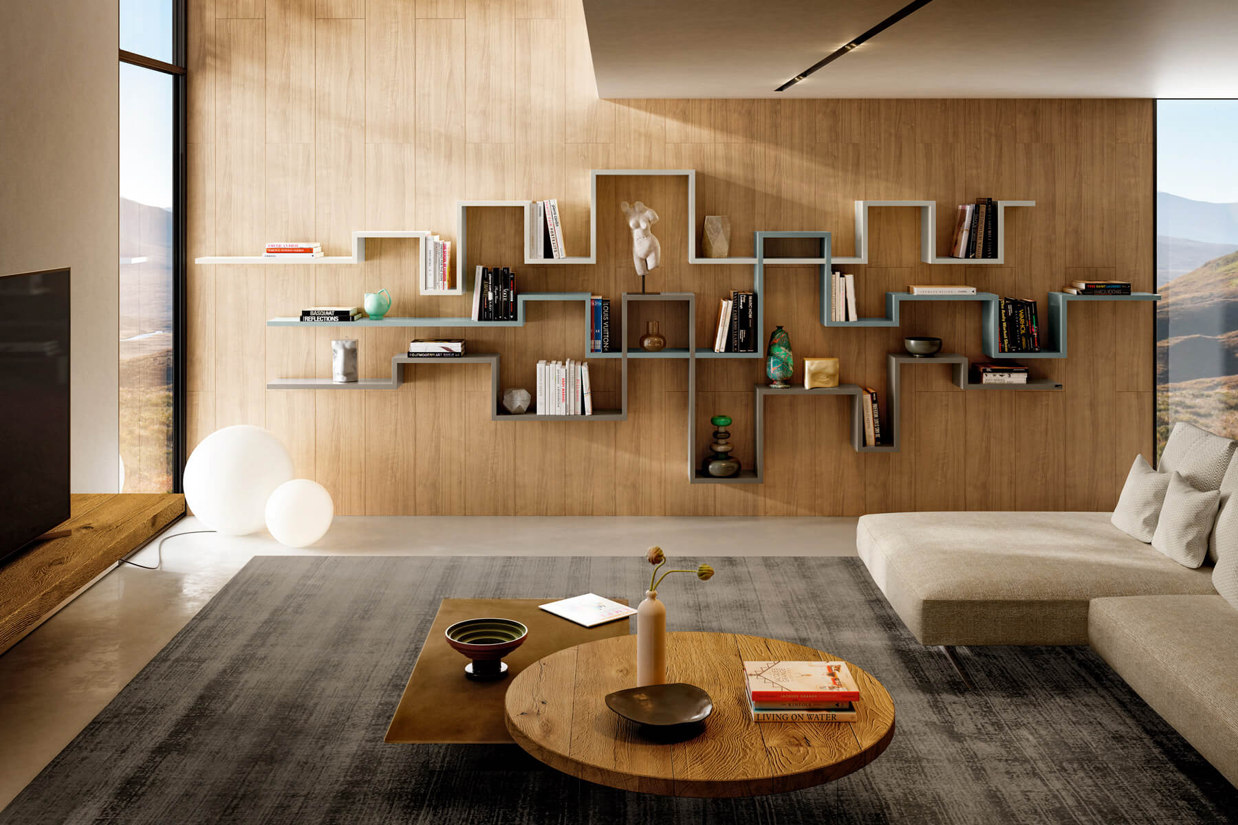 contemporary-library-soggliorno