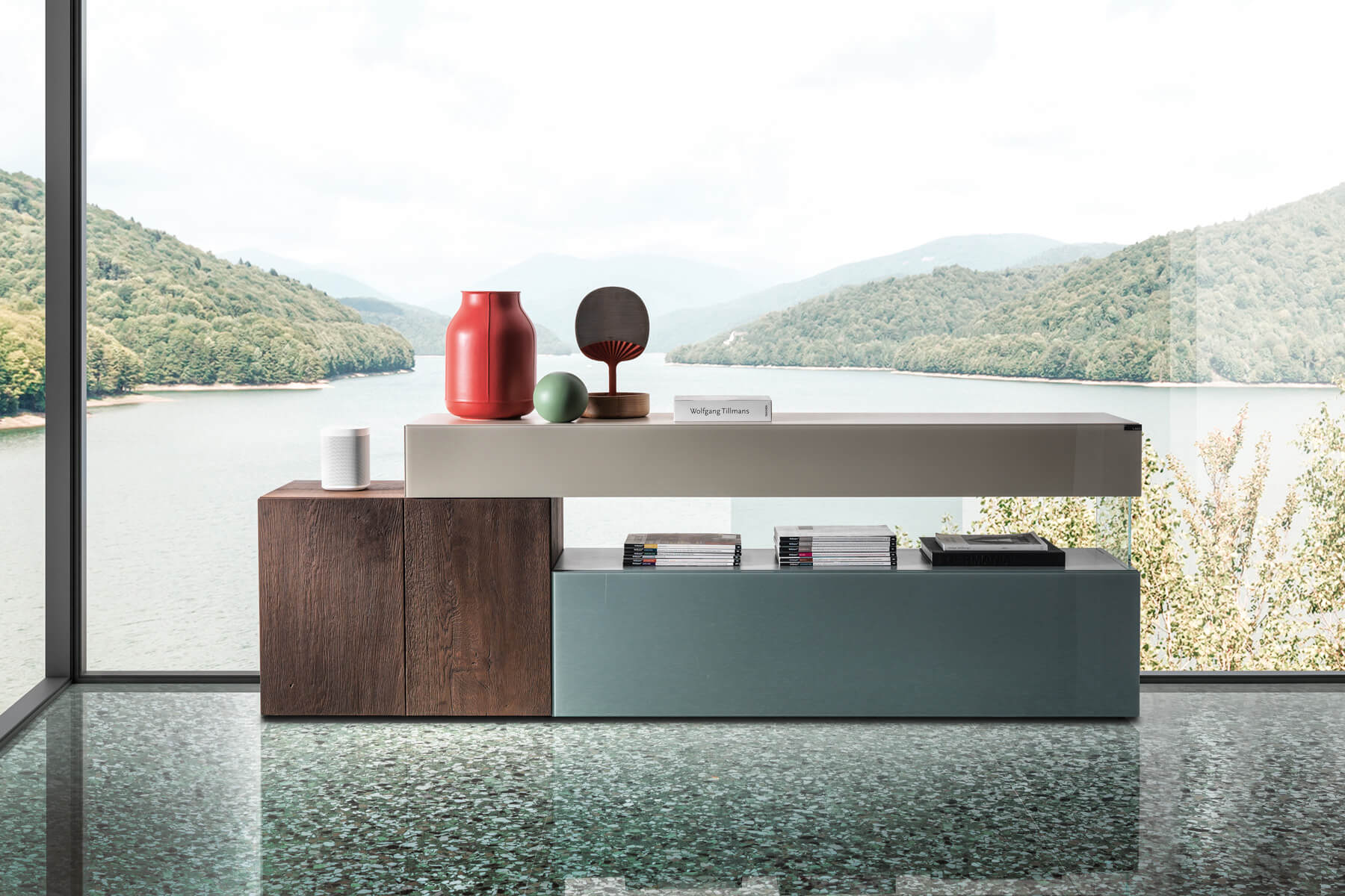 contemporary customized sideboard