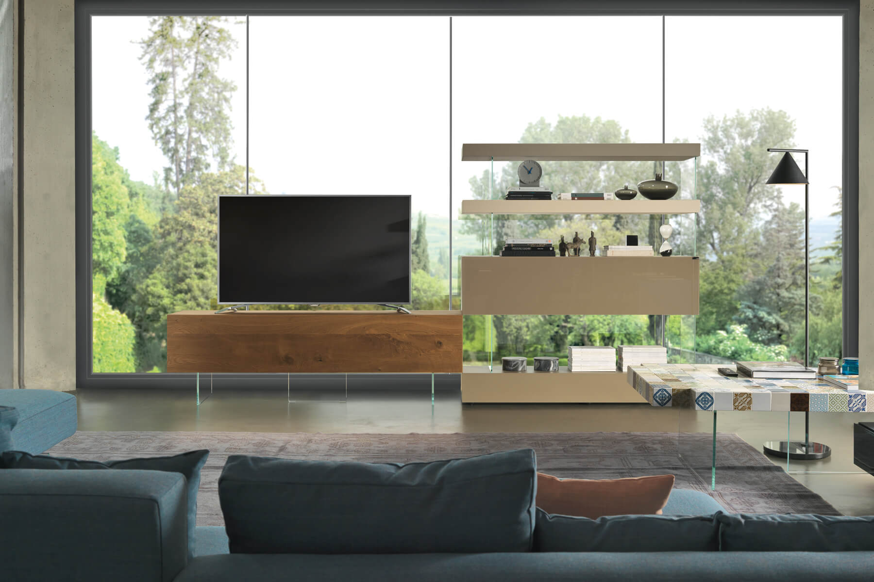 suspended wall unit