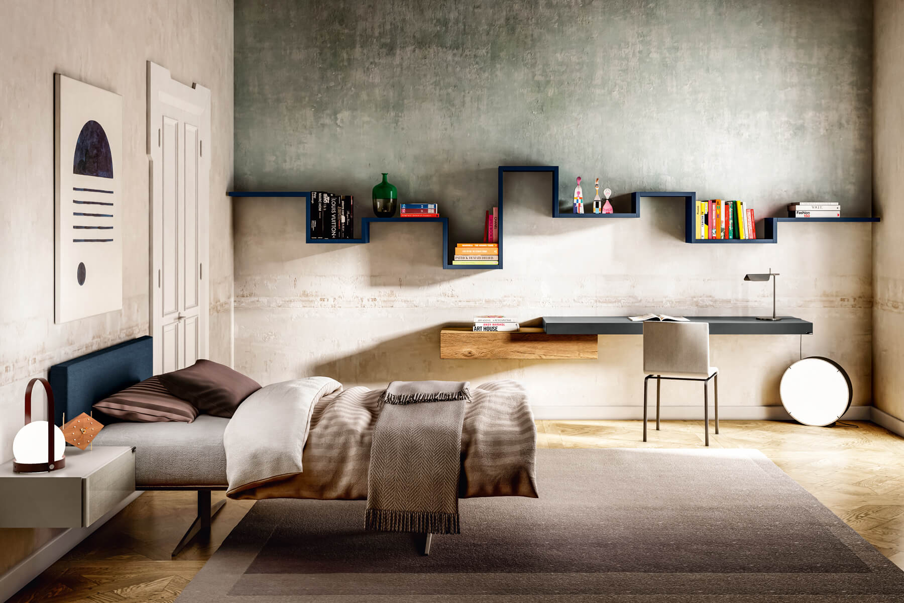 lagolinea large wall shelving